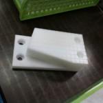 プッシャーの製作に、ジュラコンのプラスチック加工を実施(大阪のお客様)
