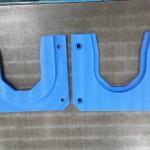 加工の位置がズレないように、原点を決めて両面加工 MCナイロン