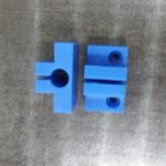 マシニングでエンドミルを使い分け、MCナイロンを切削加工